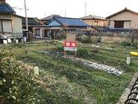 外観:地主さんは現在畑をやってますが、住宅を建てたい方にお売りします。
