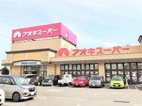 周辺環境:近いスーパーはアオキスーパー武豊店です。新鮮な食材が並んでいます。